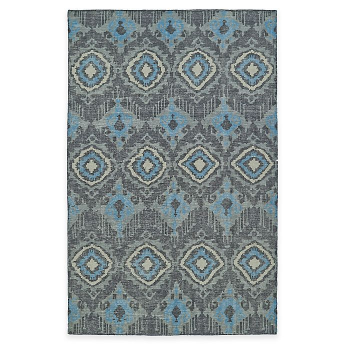 Alternate image 1 for Kaleen Relic Ikat 4-Foot x 6-Foot Area Rug in Charcoal