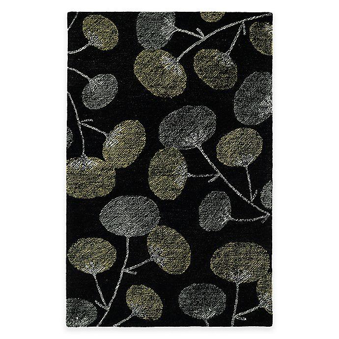 Alternate image 1 for Kaleen Montage Blooms 8-Foot x 10-Foot Area Rug in Black