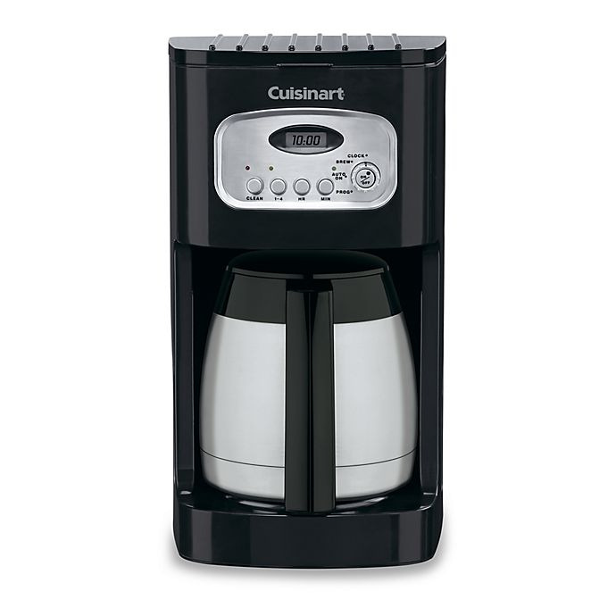 Alternate image 1 for Cuisinart® 10-Cup Programmable Thermal Coffee Maker
