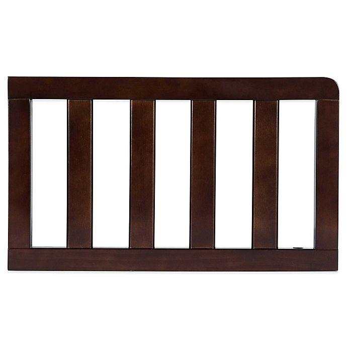 Alternate image 1 for Delta Children Bentley Toddler Guard Rail in Chocolate