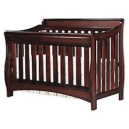 Delta Children Bentley S Series 4-in-1 Convertible Crib in Black Cherry Espresso