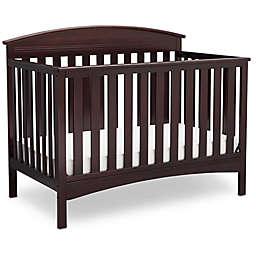 Delta Children Abby 4-in-1 Convertible Crib in Chocolate