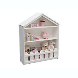 Serta Happy Home Storage Bookcase in White
