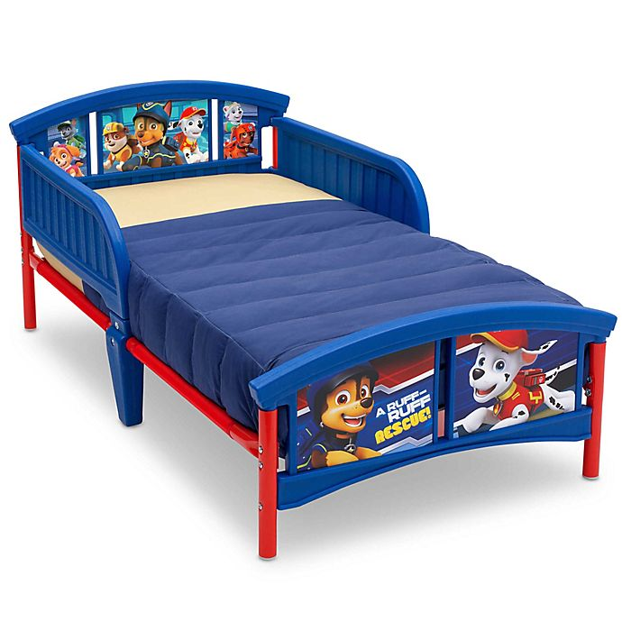 Alternate image 1 for Nickelodeon PAW Patrol Toddler Bed in Blue by Delta Children
