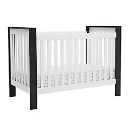 Delta Children Miles 4-in-1 Convertible Crib in Midnight