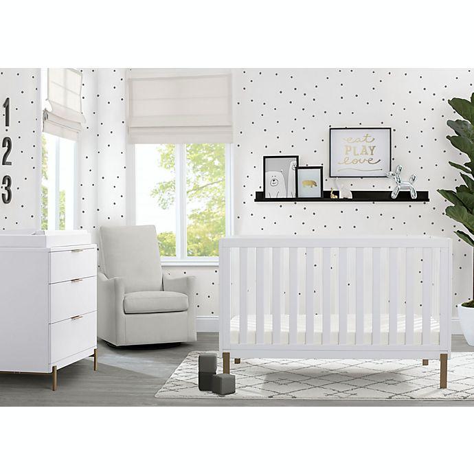 Alternate image 1 for Delta Children Hendrix 4-in-1 Convertible Crib