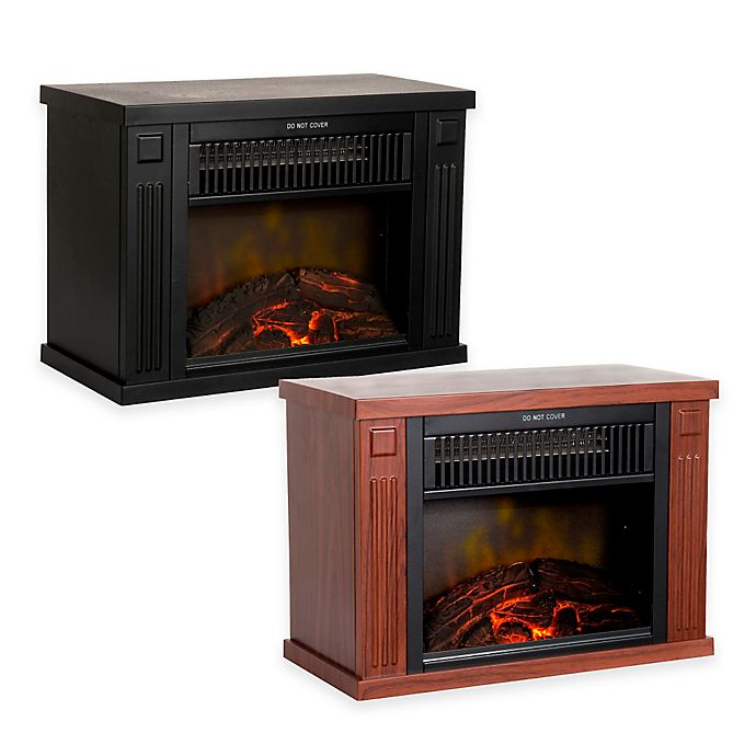 Alternate image 1 for Northwest Mini Portable Electric Fireplace Heater
