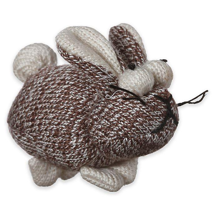Alternate image 1 for Multipet™ Sock Pals Rabbit Catnip Cat Toy in Brown/Cream
