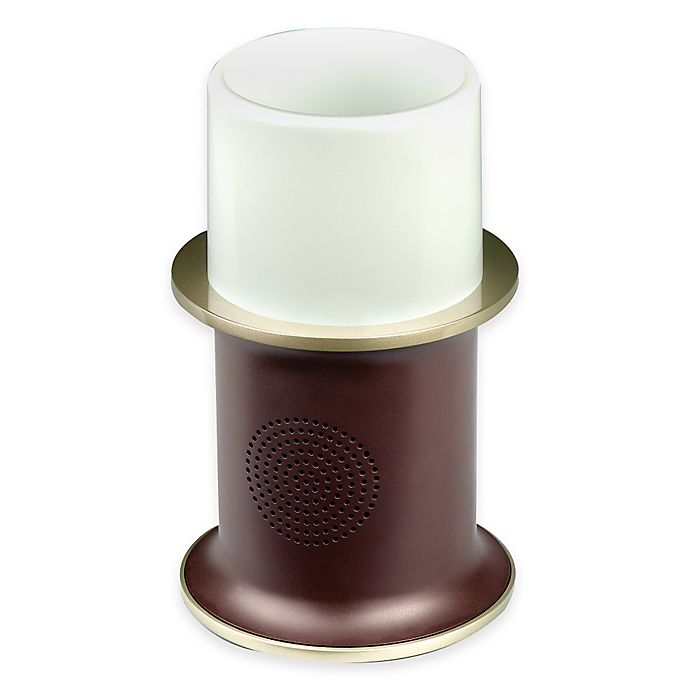 Alternate image 1 for AR 4-Watt 2-Way Wireless Bluetooth® Outdoor Speaker with LED Candle