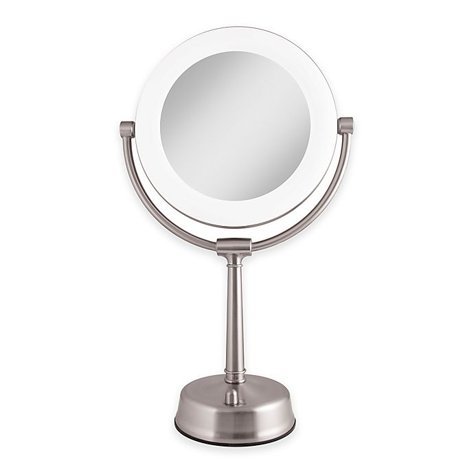 Zadro 174 1x 10x Surround Light Dimmable Vanity Mirror Bed