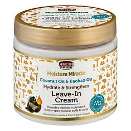 African Pride® 15 oz. Moisture Miracle Leave-In Cream with Coconut Oil & Baobab Oil
