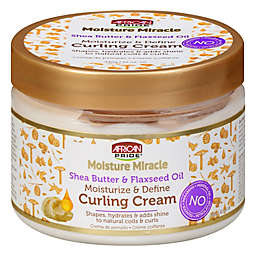 African Pride® 12 oz. Moisture Miracle Curl Cream with Shea Butter and Flaxseed Oil