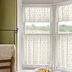 Daisy Window Valance in Ivory