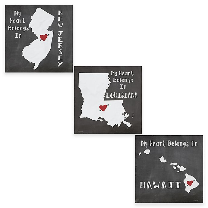 Alternate image 1 for Thirstystone® American State Coasters (Set of 4)