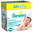 Part of the Pampers® Sensitive Wipes