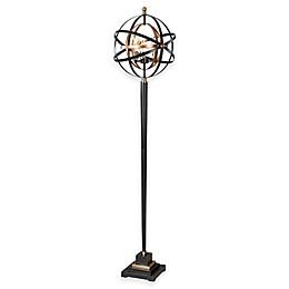 Uttermost Rondure Sphere Floor Lamp in Dark Oil-Rubbed Bronze