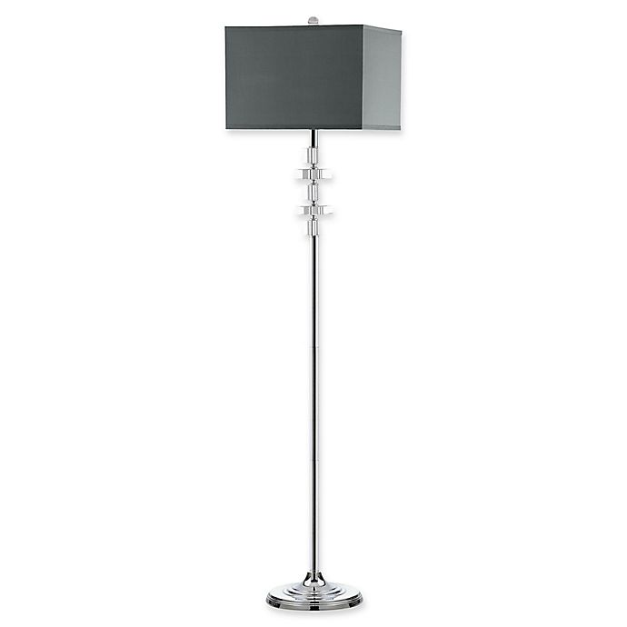 Safavieh Times Square Floor Lamp In, Table Lamp Square Shade