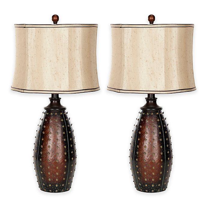 Alternate image 1 for Safavieh Santa Fe Table Lamps in Brown (Set of 2)