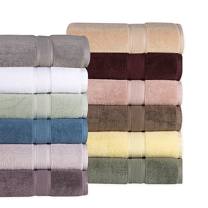 Alternate image 1 for Wamsutta® Icon PimaCott® Bath Towel Collection