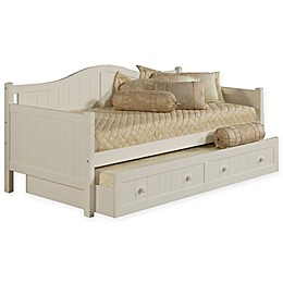 Hillsdale Staci Daybed with Trundle in White