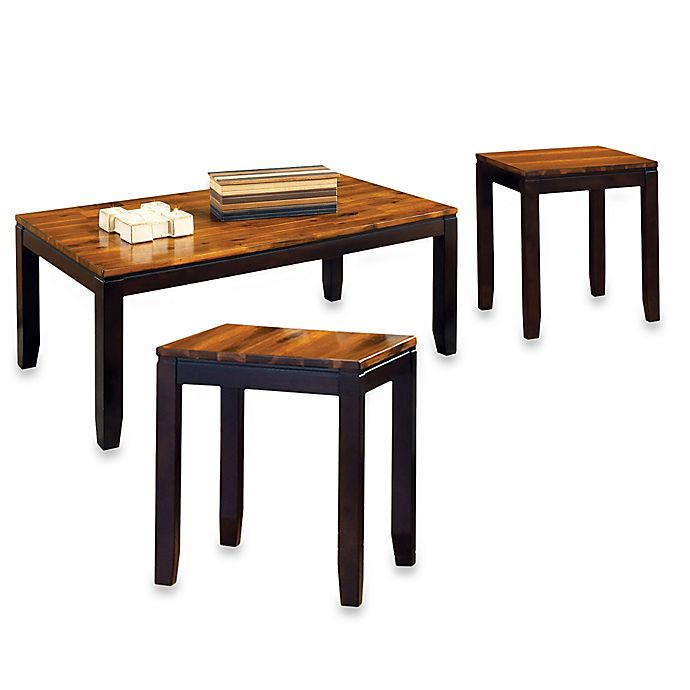 Buy Steve Silver Co. Abaco 3-Piece Cocktail Table And End