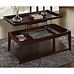Steve Silver Co. Clemson Lift-Top Cocktail Table in Merlot Cherry