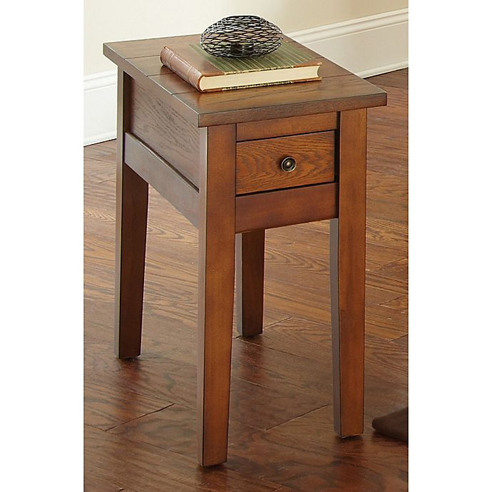 Super Steve Silver Co Desoto Chairside End Table In Oak Bed Squirreltailoven Fun Painted Chair Ideas Images Squirreltailovenorg