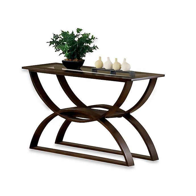 Amazing Steve Silver Dylan Occasional Sofa Table In Cherry Bed Ncnpc Chair Design For Home Ncnpcorg