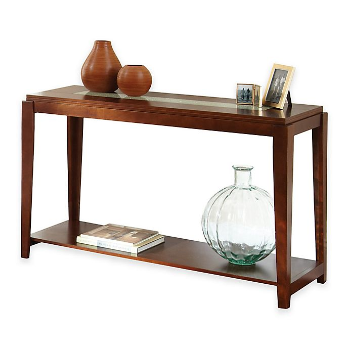 Alternate image 1 for Steve Silver Co. Ice Sofa Table in Cherry