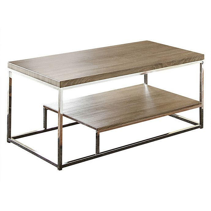 Alternate image 1 for Steve Silver Co. Lucia Cocktail Table in Grey