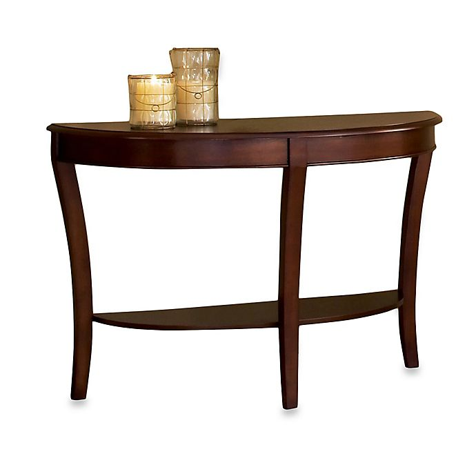 Alternate image 1 for Steve Silver Co. Troy Sofa Table in Brown