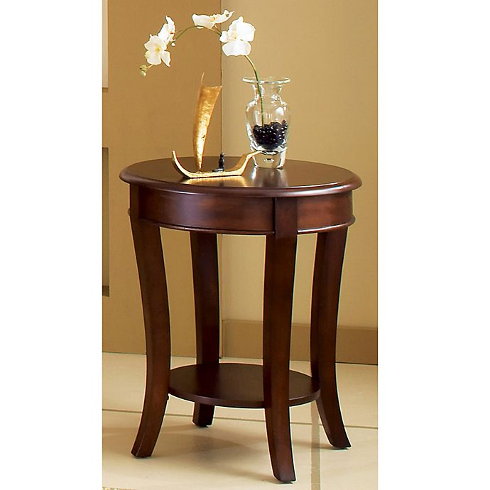 Alternate image 1 for Steve Silver Co. Troy End Table in Brown