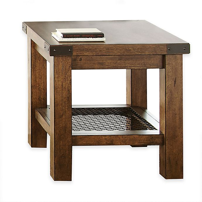 Alternate image 1 for Steve Silver Co. Hailee End Table in Oak