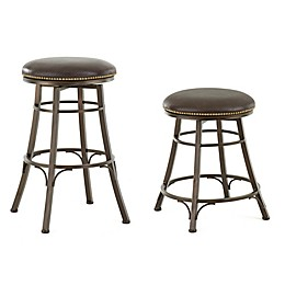 Steve Silver Co. Bali Backless Swivel Bar and Counter Stools