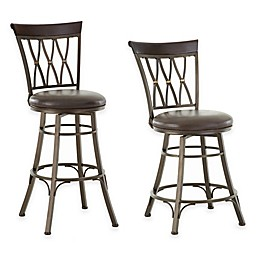 Steve Silver Co. Bali Swivel Bar and Counter Chair Collection