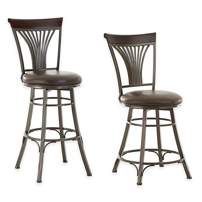 Steve Silver Co Karol Swivel Bar Stool And Counter Chair