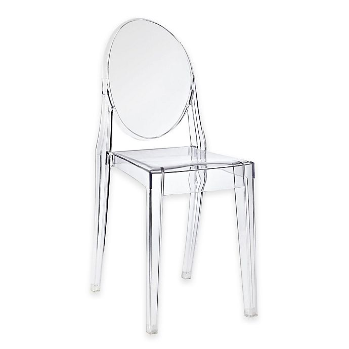 Alternate image 1 for Modway Casper Dining Side Chair in Clear