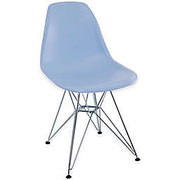Modway Paris Dining Side Chair in Blue