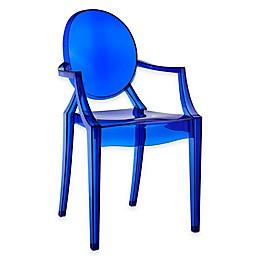 Modway Casper Dining Armchair in Blue