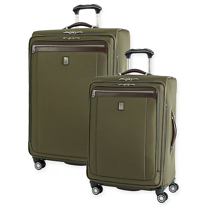 Travelpro Platinum Magna 2 Spinner Checked Luggage View A Larger Version Of This Product Image