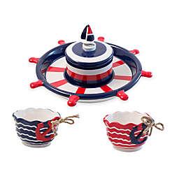 Boston Warehouse® Coastal Serveware Collection