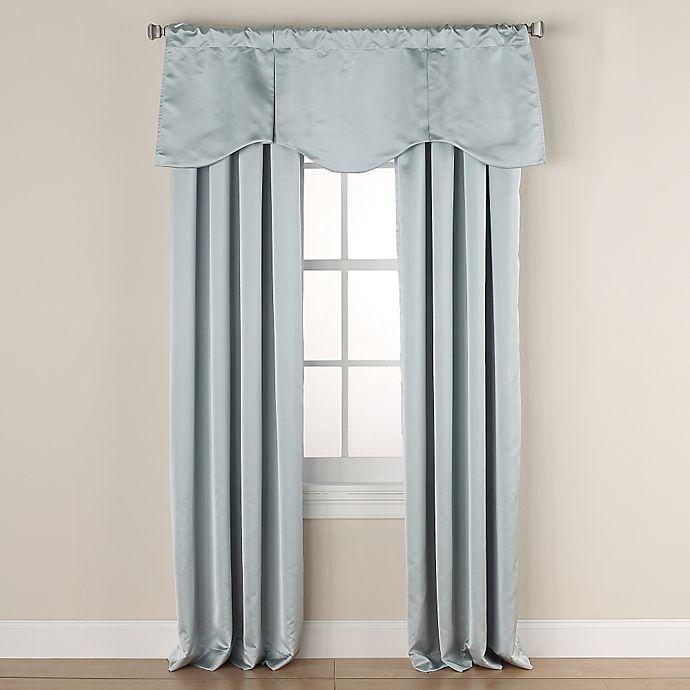 Alternate image 1 for Linnea Room-Darkening Window Curtain Panel and Valance