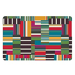 The Softer Side by Weather Guard™ Patchwork Stripe Kitchen Mat