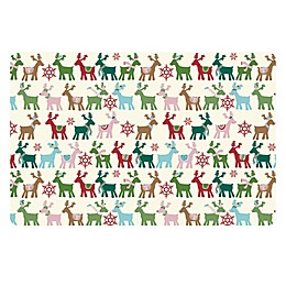 The Softer Side by Weather Guard™ Reindeer Kitchen Mat