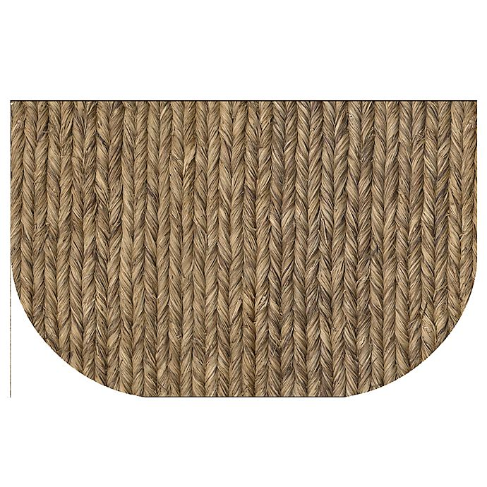 Alternate image 1 for The Softer Side by Weather Guard™ 24-Inch x 40-Inch Rope Weave Kitchen Mat