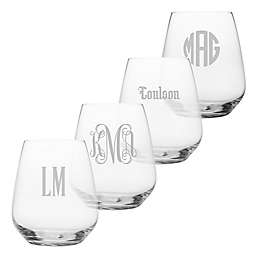 Susquehanna Glass Stemless Wine Glasses (Set of 4)