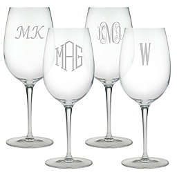 Susquehanna Glass Bordeaux Wine Glasses (Set of 4)