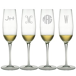 Susquehanna Glass Champagne Flutes (Set of 4)