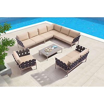 Zuo® Outdoor Glass Beach Modular System