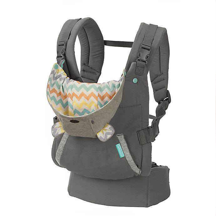 Alternate image 1 for Infantino® Cuddle Up™ Ergonomic Hoodie Carrier